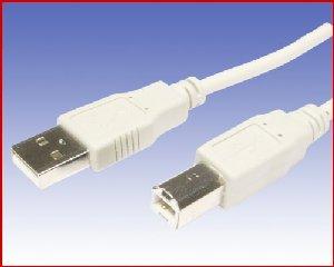 Przewód USB drukarkowy  męski/męski  (am/bm 2)