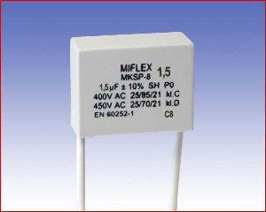 Kondensator silnikowy MKSP-8, 1,5µF