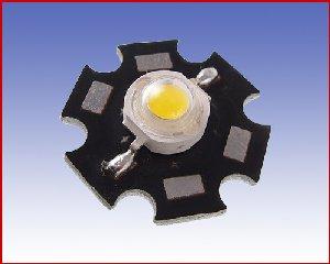 Dioda LED mocy 5W, zimna biała