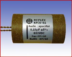 Specjalistyczny kondensator audio KPCU-02 0,18µF