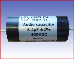 Kondensator audio MKP-11 8,2µF