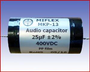 Kondensator audio MKP-13 25µF