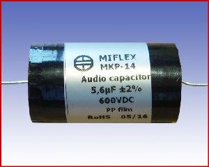 Kondensator audio MKP-14 5,6µF