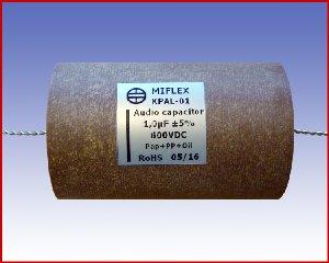 Specjalistyczny kondensator audio KPAL-01 1,0µF