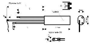 Kondensator przeciwzakłóceniowy KSPpz-7, 0,15µF+2*2500pF