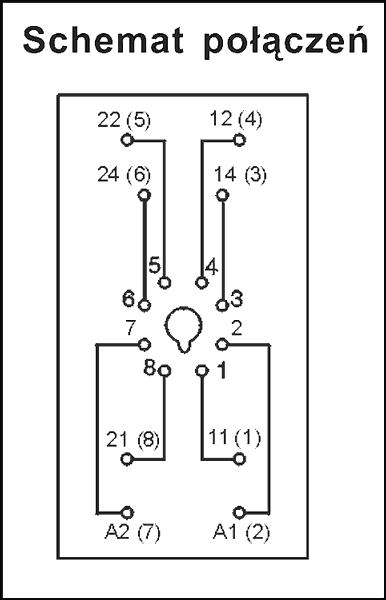 Gniazdo wtykowe GZU8