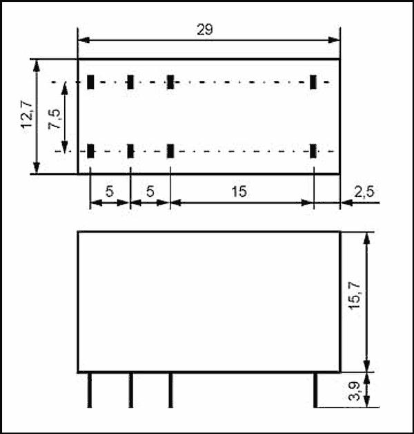 Przekaźnik RM84 2P 230 AC