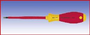 Wkrętak izolowany płaski Wicha SoftFinish electric, 320N, 5,5x125