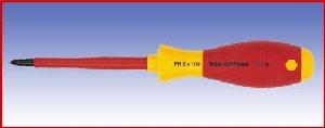 Wkrętak izolowany krzyżowy Wicha SoftFinish electric, 321N, PH2x100