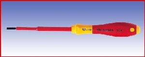 Wkrętak izolowany płaski Wicha SoftFinish electric, 320N, 3,5x100