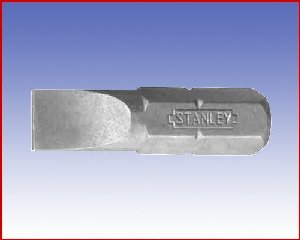 Bit Stanley Standard, płaski, forma E 6,3 - pł: 5,5/0,85/25