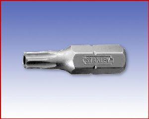 Bit Stanley, TORX® Tamper Resistant, forma E 6,3 - torx: TR6/25