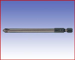 Bit Felo Przemysłowy, krzyżowy, forma E 6,3 - PH2/100