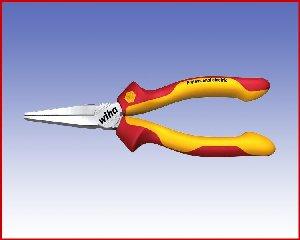 Szczypce płaskie Wiha Professional electric 160 z ząbkami