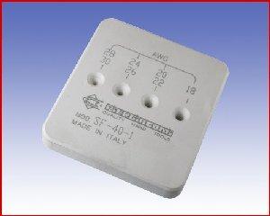 Urządzenie do zdejmowania izolacji PIERGIACOMI SF 40-1  0,05 do 0,82 mm² (30 – 18 AWG)