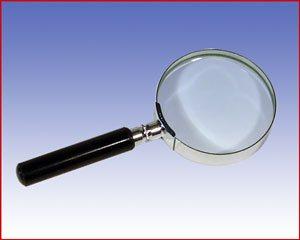 Klasyczna lupa z rączką x3,5 ø50, model: 2652