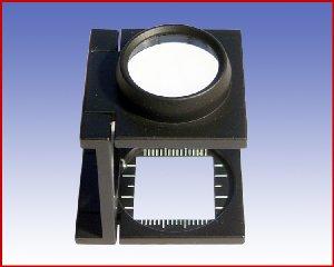 Lupa tkacka x8 z podziałką, model: 3301