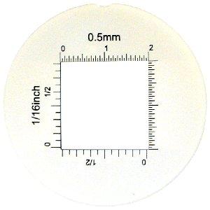 Lupa stojąca ze skalą TEL004 powiększenie x12, Led Biały i UV