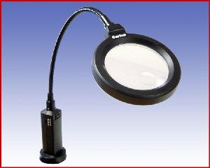 Lampa LED z lupą na magnesie ferrytowym TEL 1991