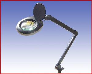 Lupa lampa, model: LED N1B 80LED czarna