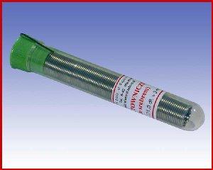 Fiolka S-Sn63PbAg1 (LC63S1) Ø1,0 z topnikiem