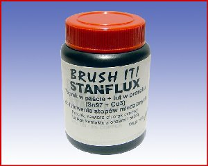 Topnik STANFLUX (Topnik + Lut w proszku) Sn97Cu3