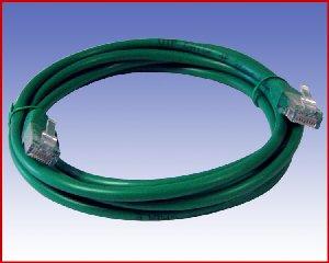 Przewód Patchcord UTP-5e 1,5 m zielony