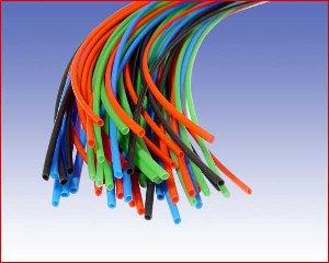 Rury termokurczliwe cienkościenne RC 2,4/1,2, standardowe