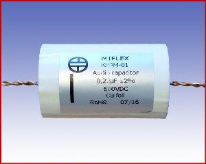 Specjalistyczny kondensator audio KFPM-01 0,22µF