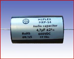 Kondensator audio MKP-14 4,7µF