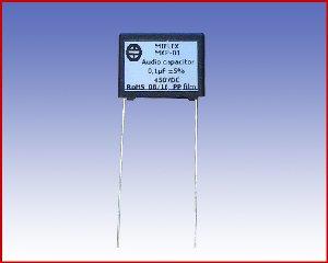 Kondensator audio MKP-01 0,1µF
