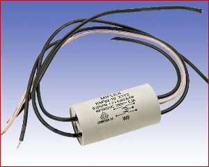 Kondensator przeciwzakłóceniowy KSPpz-10, 0,22µF+2x2700pF