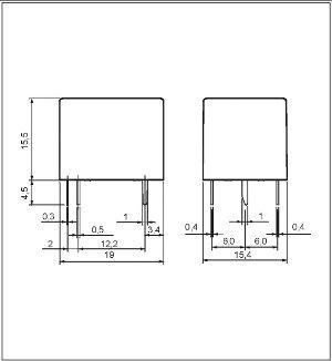 Przekaźnik RM50 1P 12 DC 3011-85-1012
