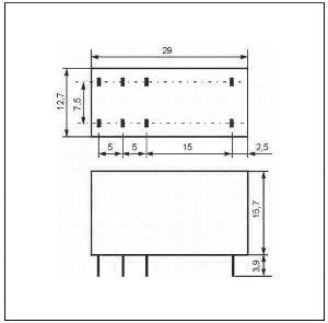 Przekaźnik RM85 1P 110 DC