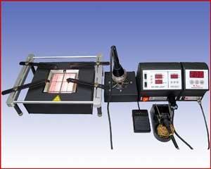 Xytronic IR860 BGA/Rework Infrared + LF2000 (zestaw 2)