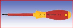 Wkrętak izolowany krzyżowy Wicha SoftFinish electric, 321N, PH1x80