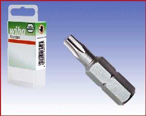 Bity Wiha Standard, TORX®, forma C 6,3 - T25, T30, T40