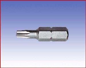 Bit Wiha Standard, TORX®, forma E 6,3 - torx: T5/25