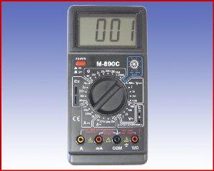 Multimetr cyfrowy DT 890C+