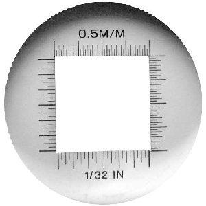 Lupa stojąca ze skalą M100 powiększenie x10, podświetlenie Led