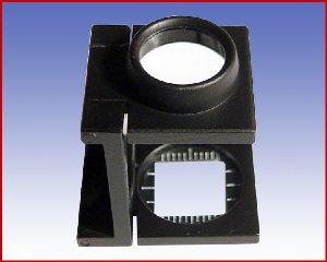 Lupa tkacka x10 z podziałką, model: 3302