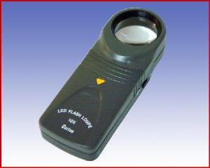 Lupa podświetlana powiększenie x10 model: 7519