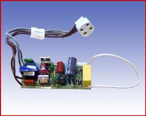 Elektroniczny układ do świetlówki kołowej 22W 4pin