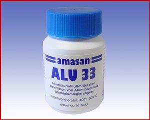 Topnik ALU33 do lutowania miękkiego aluminium i jego stopów